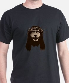 JESUS WITH CROWN OF THORNS T-Shirt
