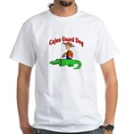 Cajun Guard Dog White T-Shirt