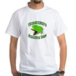 Gator Farm White T-Shirt