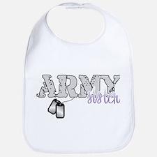 Army sister 2 Bib