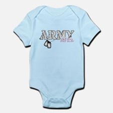 Army sister 2 Infant Bodysuit