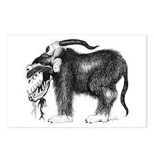 Grundle Beast Monster Postcards (Package of 8)