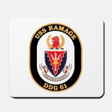 USS RAMAGE Mousepad