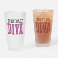 Mortgage DIVA Drinking Glass