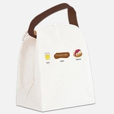 Tuica Mititei Papanasi Canvas Lunch Bag