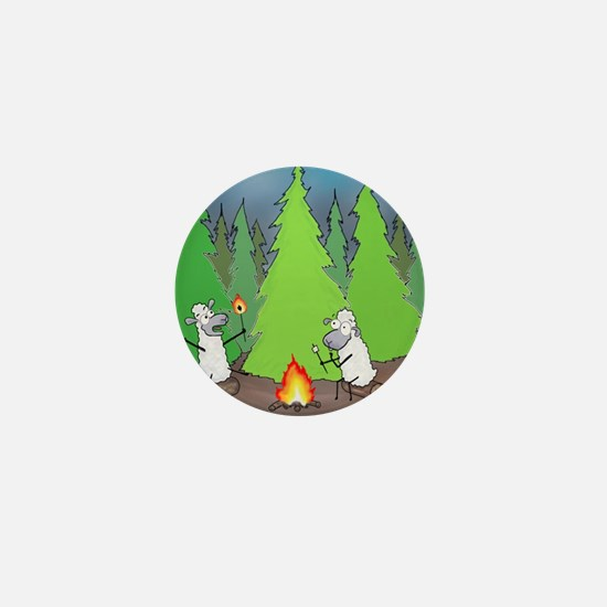 Cool Woods Mini Button