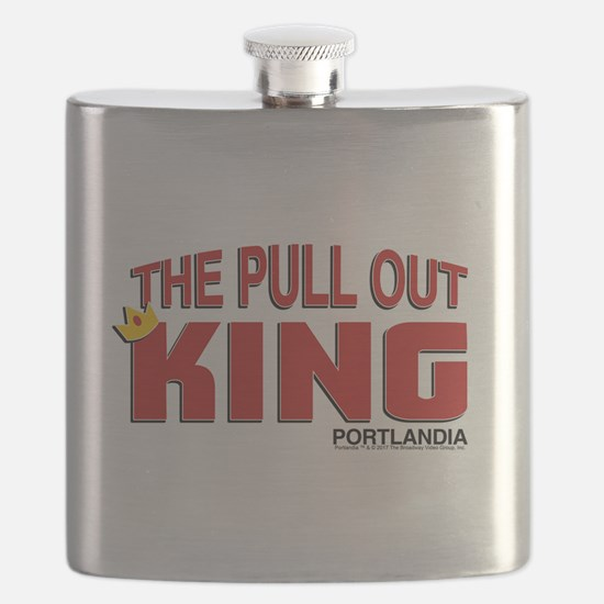The Pull Out King Portlandia Flask