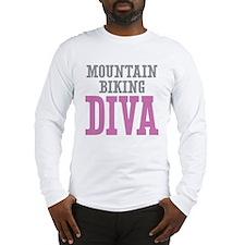 Mountain Biking DIVA Long Sleeve T-Shirt