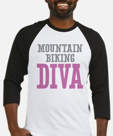 Mountain Biking DIVA Baseball Jersey