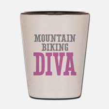 Mountain Biking DIVA Shot Glass