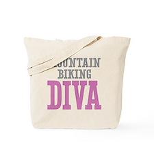 Mountain Biking DIVA Tote Bag
