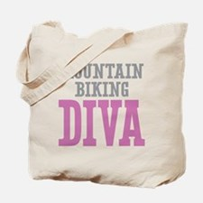 Mountain Biking DIVA Tote Bag