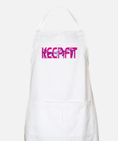 Keep Fit in Pink Apron