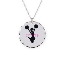 Funny Avery Necklace Circle Charm