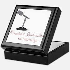 Broadcast Journalist In Training Keepsake Box