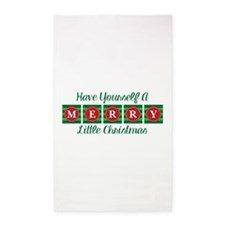 Have Yourself A Merry Little Christmas Area Rug