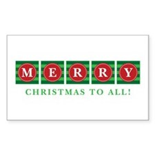 Merry Christmas To All! Decal