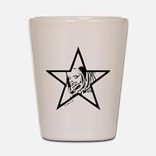 Pin Up Star Shot Glass