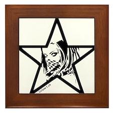 Pin Up Star Framed Tile