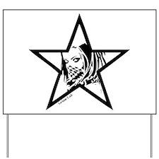 Pin Up Star Yard Sign