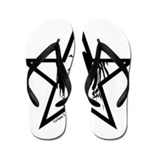 Pin Up Star Flip Flops