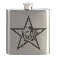 Pin Up Star Flask