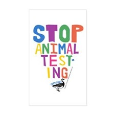 Portlandia Animal Testing Decal