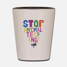 Portlandia Animal Testing Shot Glass