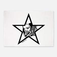 Pin Up Star 5'x7'Area Rug