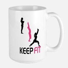 Keep Fit in Pink Mugs