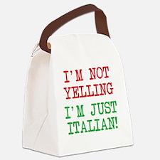 Cute Italian Canvas Lunch Bag