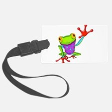 Waving Poison Dart Frog Luggage Tag