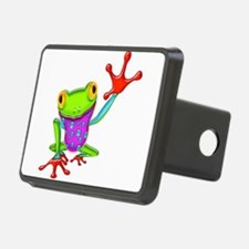 Waving Poison Dart Frog Hitch Cover