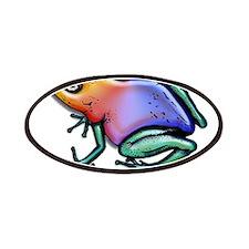Rainbow Shiny Poison Dart Frog Patches