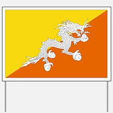 Bhutanese flag Yard Sign