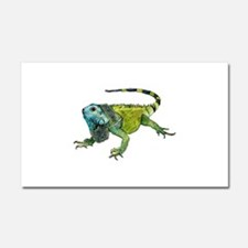 Gorgeous Green Iguana Car Magnet 20 x 12