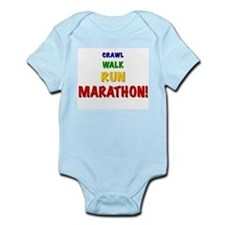 Cute Child of runner Infant Bodysuit