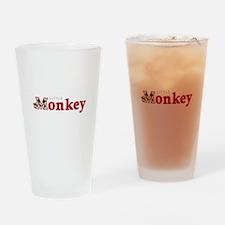 Little Monkey Drinking Glass