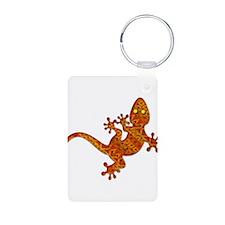 Gordon Gekko Aztec Lizard Keychains
