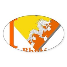 I love Bhutan Decal