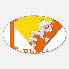 I love Bhutan Decal