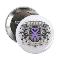 """General Cancer Victory 2.25"""" Button (10 pack)"""