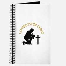 COWBOYS FOR CHRIST Journal