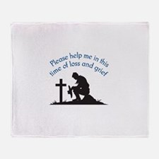 LOSS AND GRIEF Throw Blanket