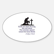 COWBOY PRAYER Decal