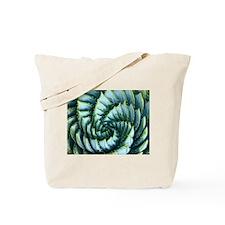 Spiral Aloe Tote Bag