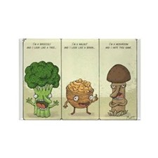 Funny Humor Rectangle Magnet (10 pack)