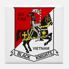 3RD SQUADRON 5TH CAVALRY Tile Coaster