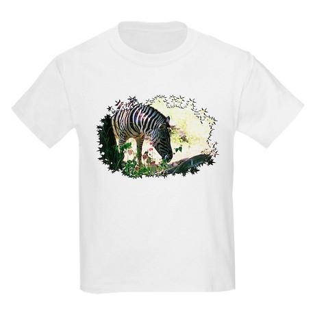 Grazing Zebra Kids Light T-Shirt