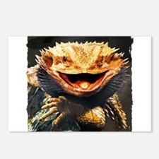 Grotesque Bearded Dragon Postcards (Package of 8)